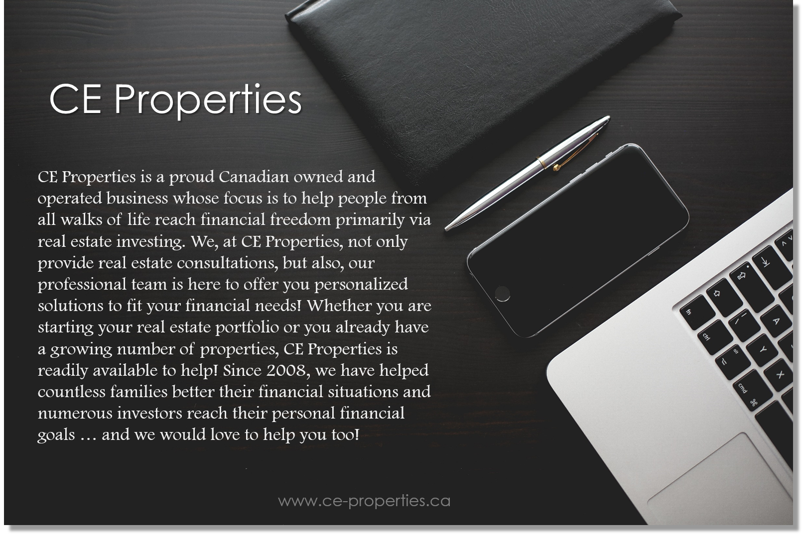 Who is CE Properties 2