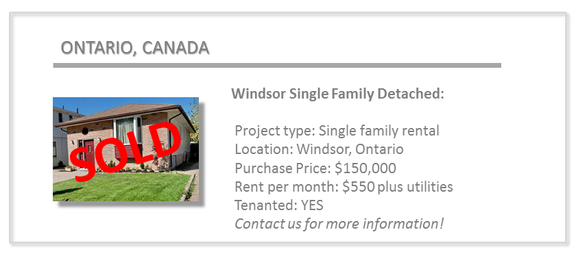 past deal - windsor single family