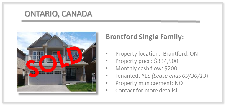 past deals - brantford