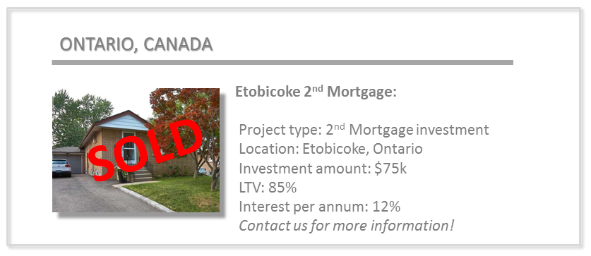 past deals - etobicoke 2nd mortgage