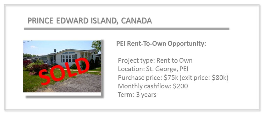 past deals - pei 2
