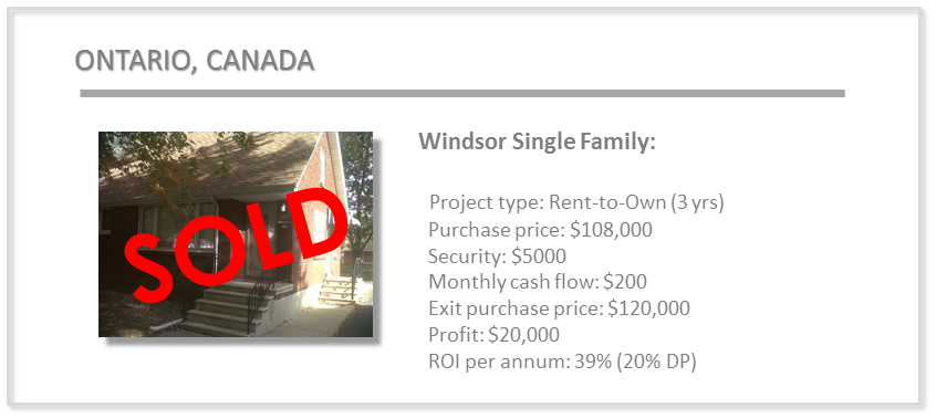 past deals - windsor rto