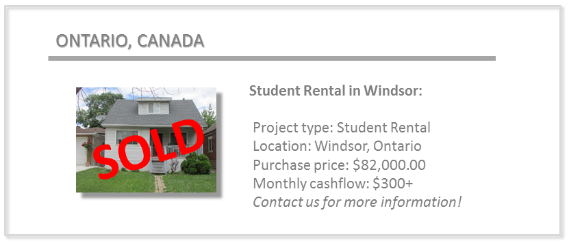 past deals - windsor student rental