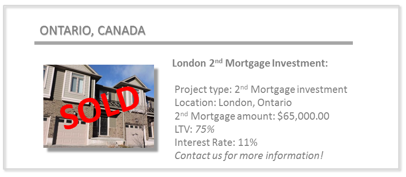 past deals - london 2nd mortgage