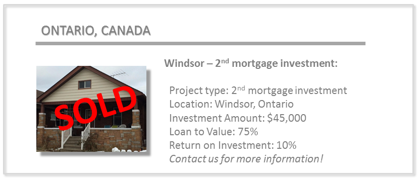 past deals - windsor 2nd mortgage
